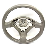Sports Steering Wheel 3 Spoke 02-05 Audi A4 B6 - Grey Leather - 8E0 419 091 AS