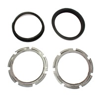 Fuel Pump Lock Ring & Seal Set 02-08 Audi A4 S4 B6 B7 - Genuine