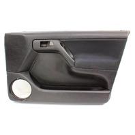 RH Front Interior Door Panel Card 96-99 VW Jetta Golf Mk3 Black - Genuine