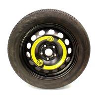"""16"""" Full Size Spare Steel Wheel Rim & Tire 05-10 VW Jetta GTI Rabbit MK5 5x112"""