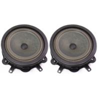 Pair Stock Blaupunkt Door Speakers 06-08 Audi A3 - Genuine - 8P0 035 411
