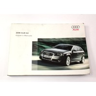 Owners Manual Book Booklet 06 2006 Audi A3 8P - Genuine