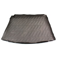 Rear Trunk Hatch Rubber Liner Mat Protector 06-13 Audi A3 Genuine - 8P5 061 180