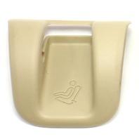 Rear Child Seat Restraint LATCH Cover Trim 06-12 Audi A3 - Beige - 8P0 887 233