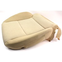 LH Front Lower Seat Cushion & Cover 06-13 Audi A3 8P - Beige Cloth