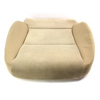RH Front Lower Seat Cushion & Cover 06-13 Audi A3 8P - Beige Cloth