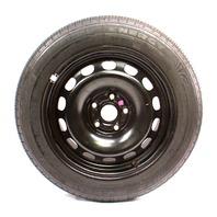 """16"""" x 7"""" Steel Spare Wheel Rim & Tire VW Passat Audi A3 5x112 ~ 3B0 601 027 F/G"""