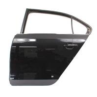 LH Rear Door Shell 11-18 VW Jetta Sedan MK6 - Genuine - LC9X - Deep Black Pearl