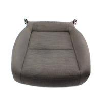 RH Front Seat Cushion Cover & Foam 06-09 VW Rabbit MK5 - Gray Cloth - Genuine