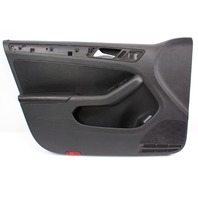 Driver Front Door Panel 11-18 VW Jetta MK6 Sedan - Genuine - 5C7 867 011 K