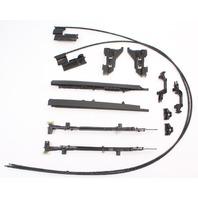 Sunroof Tracks Cables Repair Parts 11-18 VW Jetta MK6 Sedan - Genuine