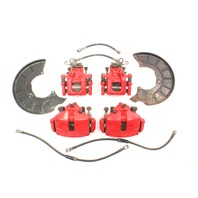 Big Brake Upgrade Red GLI Set 11-18 VW Jetta MK6 - Genuine - 312mm 272mm
