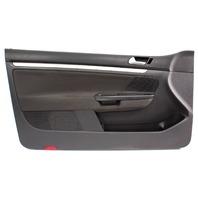 LH Front Interior Door Panel 06-09 VW Rabbit Golf GTI MK5 2 Door ~ 1K3 867 011 N