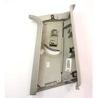LH Interior B Pillar Seat Belt Slider Trim Panel 05-09 VW Rabbit MK5 1K3 867 243