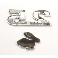 2.5 Trunk Hatch Emblem Badge Logo 06-09 VW Rabbit MK5 - Genuine