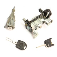Lock Set Ignition Cylinder Door & Key VW Jetta Rabbit GTI MK5 ~ 1K0 905 851 B