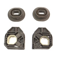 Radiator Bushing Mount Set 05-10 VW Jetta Rabbit GTI MK5 - 1K0 121 367 C