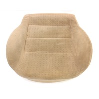 Front Heated Seat Cushion & Cover VW Jetta Golf MK4 Passat Beige Cloth - Genuine