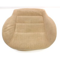 Front Heated Seat Cushion & Cover VW Jetta Golf MK4 Passat Beige Cloth ~ Genuine