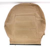 RH Heated Seat Back Rest Cover VW Jetta Golf MK4 Passat Beige Cloth 1J0 963 557