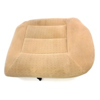 LH Rear Back Seat Lower Cushion & Cover Beige 99-01 VW Jetta Golf MK4 ~ Genuine