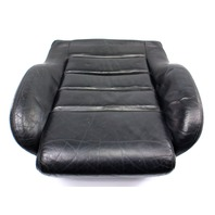 RH Front Black Leather Seat Cushion 00-02 Audi S4 B5 - Sport Seat - Genuine