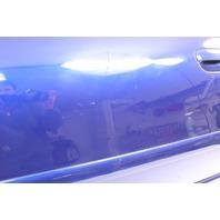 LH Front Door Shell Skin 99-02 Audi A4 S4 B5 -  LZ5K Santorin Blue