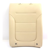 RH Rear Seat Back Rest 11-18 VW Jetta MK6 Sedan - Beige Perforated Leatherette