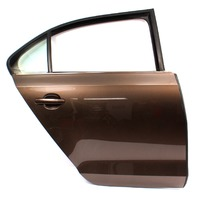 RH Rear Door Shell 11-18 VW Jetta Sedan MK6 Genuine - LH8Z Toffee Brown