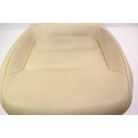 LH Front Seat Cushion 15-18 VW Jetta MK6 Sedan - Beige Perforated Leatherette