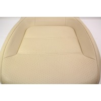 RH Front Seat Cushion 15-18 VW Jetta MK6 Sedan - Beige Perforated Leatherette