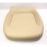 RH Front Seat Cushion 15-18 VW Jetta MK6 Sedan - Beige Perforated Leatherette