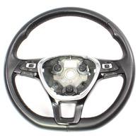 Leather Steering Wheel 15-18 VW Jetta MK6 Sedan - Genuine - 5C0 419 091 BL