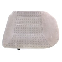 LH Rear Back Seat Cushion & Cover 99-05 VW Jetta Golf MK4 Grey Cloth - Genuine