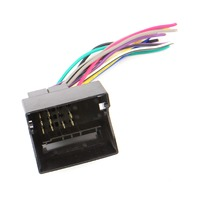 Radio Plug Pigtail Converter Adaptor Fits VW 02-05 VW Passat Jetta Golf MK4