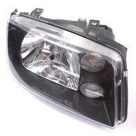 Smoked Headlight Head Light Lamp Set 99-05 VW Jetta MK4 - Aftermarket