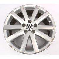 "One Stock Wheel Rim Alloy BBS 17"" 5x112 06-10 VW Passat B6 ~ 3C0 601 025 J"