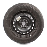 "Full Size Spare 15"" Steel Wheel 05-14 VW Rabbit Golf Jetta Mk5 MK6 1K0 601 027 C"
