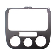 Radio Climate Control Dash Trim 05-10 VW Jetta Rabbit Golf MK5 ~ 1K0 858 069 F ~