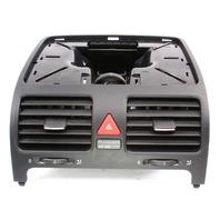 Center Dash Vent Trim 05-10 VW Jetta Rabbit GTI Golf MK5 Genuine - 1K0 819 743 A