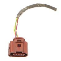 Lower O2 Oxygen Sensor Pigtail Plug 05-10 VW Jetta Rabbit MK5 ~ 6Q0 973 704 A
