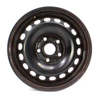 "Genuine VW 15"" Steel Wheel 05-14 Rabbit Golf Jetta Mk5 MK6 ~ 1K0 601 027 C"