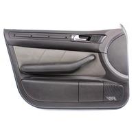 Driver Front Door Panel 01-05 Audi Allroad - Dark Gray Leather - Genuine