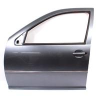 LH Front Driver Door Shell 99-05 VW Jetta Golf MK4 LD7X Platinum Grey - Genuine