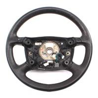 Steering Wheel 98-04 Audi A6 Allroad C5 Black Leather - Genuine - 8Z0 419 091 K