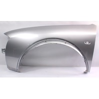 LH Front Fender 2001 Audi Allroad LY7W Light Silver Metallic Genuine 4Z7 821 103
