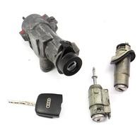 Ignition Door Lock Key Set 98-05 Audi A6 S6 C5 Allroad - Genuine - 4B0 905 851 B