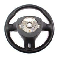 Leather Steering Wheel 10-14 VW Jetta Golf GTI MK6 - Genuine - 5C0 419 091 AK