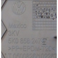 LH Dash End Cap Cover 11-14 VW Jetta Sportwagen MK6 - Genuine - 5K0 858 247 E