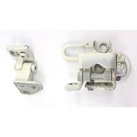 RH Rear Door Hinge Set 05-10 VW Jetta Rabbit GTI MK5 LB9A White - 1K4 833 412 Q